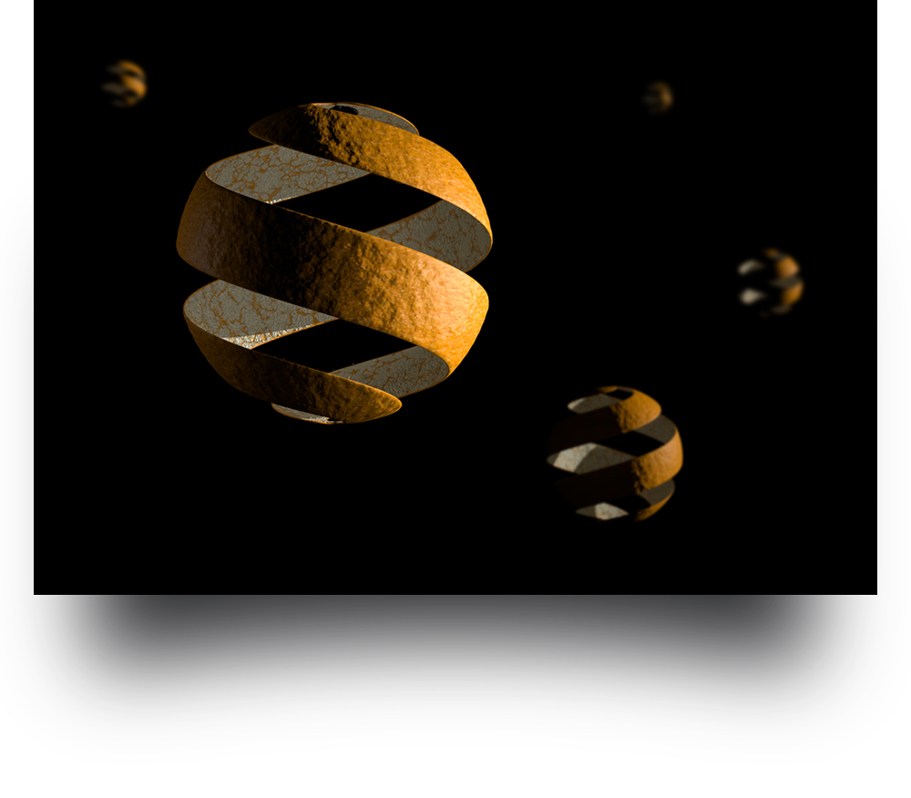 CGI Orange Rendering